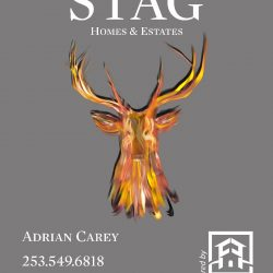 STAG For Sale board - This one won't eat your flowers...