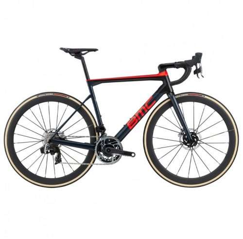 2020 BMC TEAMMACHINE SLR01 ONE RED ETAP AXS HRD DISC ROAD BIKE